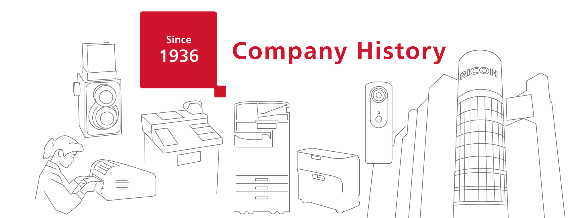 Company History | About Ricoh | Global | Ricoh