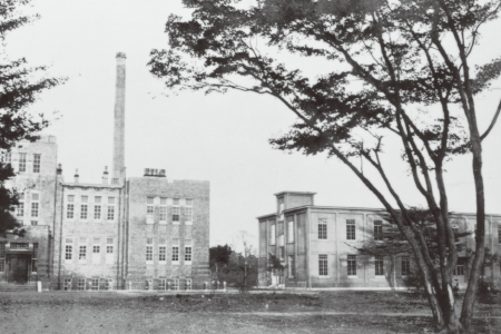 Institute of Physical and Chemical Research in the earliest days (Bunkyo-ku, Tokyo)
