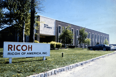Ricoh of America, Inc. established in January, 1970