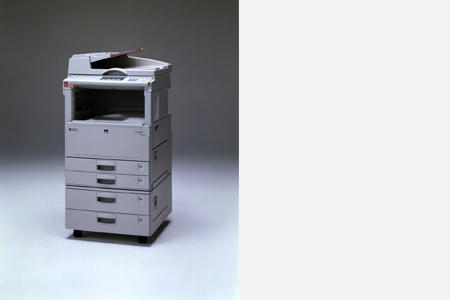 imagio MF200, a global digital copier success story (1996)