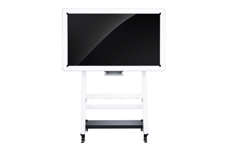 Ricoh Interactive Whiteboard D5000, a visual communication system including writable display screens and supporting telecommunications