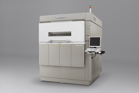 RICOH AM 5500P, Ricoh's first 3D printer