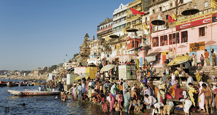 The Ganges River as a lifeline for many in India