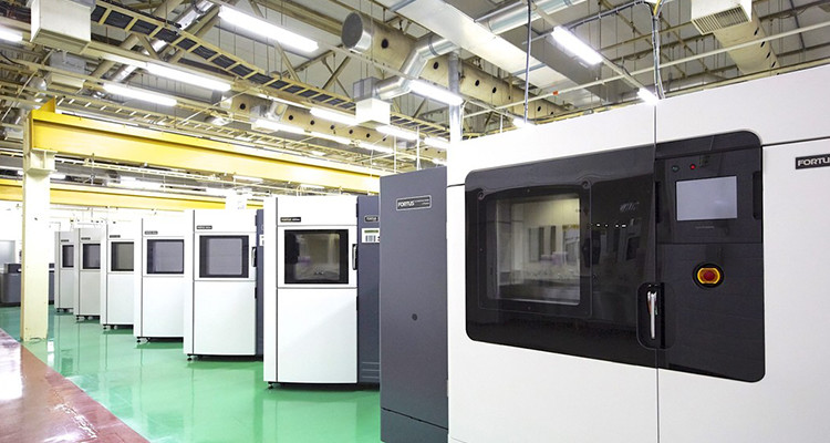 RICOH Rapid Fab Atsugi is the main site for the company's 3D printing services, housing banks of advanced machines to accommodate specific customer needs.