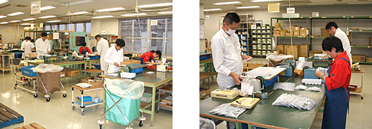 img:Ricoh Espoir staff working at the Atsugi Plant