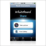 Whiteboard Share iPhone app