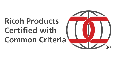 Ricoh Products Certified with Common Criteria