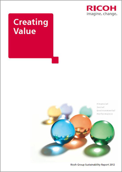 Ricoh Group Sustainability Report 2012