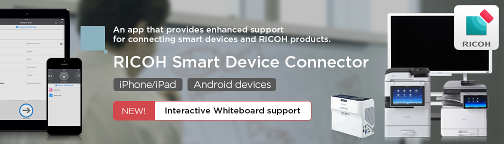 RICOH Smart Device Connector | Global | Ricoh