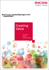 image:Ricoh Group Sustainability Report 2017