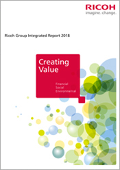 image:Ricoh Group Sustainability Report 2018