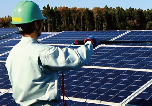 Solar power facility operation and maintenance services