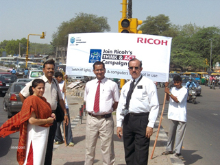 image:India: Street campaign promoting the event