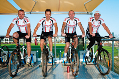 "image:Australia: Creating a ""power cycle"" with a local football team"
