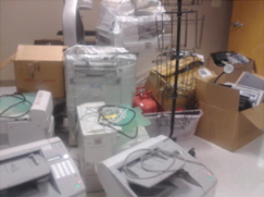 image:U.S.:Office equipment collected in Concord and San Francisco