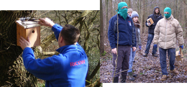 image:U.K :Eco Ninja, biodiversity conservation project launched by a Ricoh factory in the UK